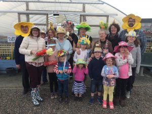 "The winners from the 2017 ""Easter Bonnet Parade"