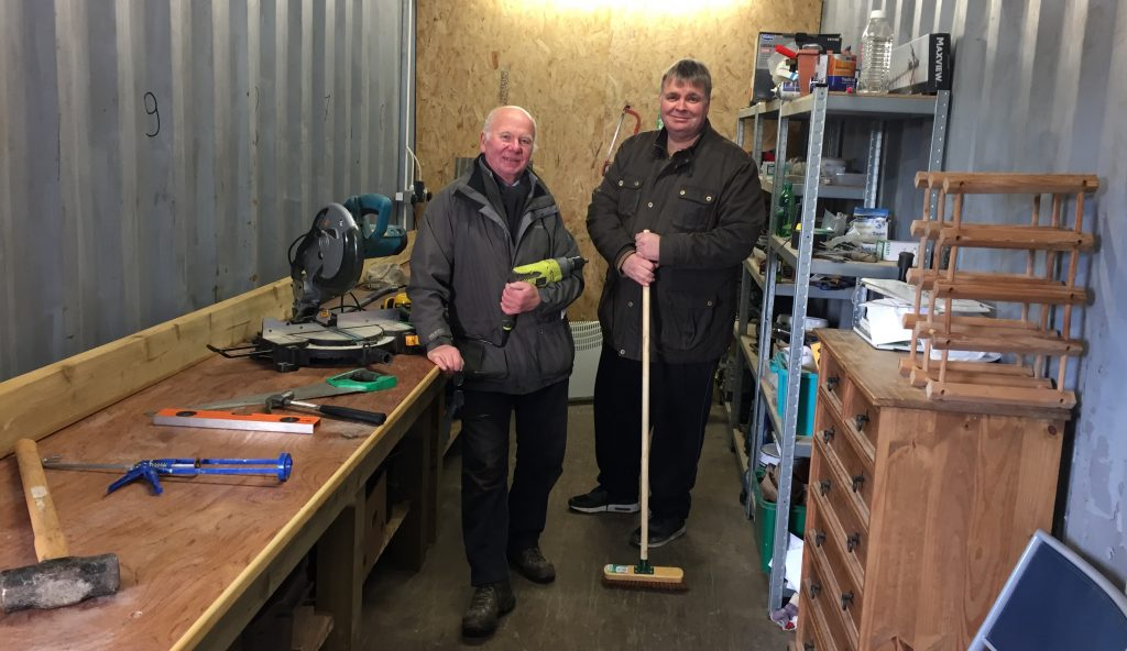 men's shed for stirling