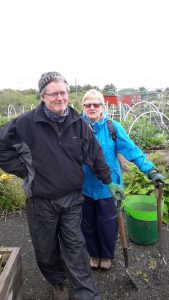 Peter Wright and Rhonda Platt